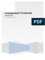 ted626 managementnotebook domainfartifact
