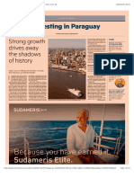 Investing in Paraguay - Financial Times (UK), Tuesday, June 11, 2019,