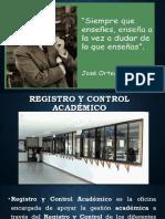 Registro y Control Académico