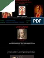 EDUCACIÓN EN EL PERIODO DE SIMÓN BOLÍVAR