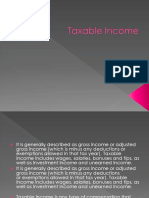 Taxable Income Bs4