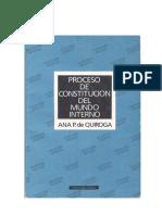 Proceso de Constitución Del Mundo Interno