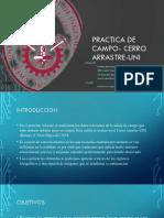 Practica de Campo- Cerro Arrastre-UNI-TERMINADO