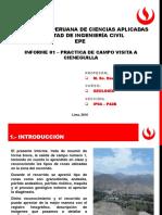 Informe Nro 01 Salida de Campo a Cieneguilla