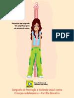 Campanha de Prevenção à Violencia Sexual Contra Crianças e Adolescentes - Cartilha Educativa SEDH