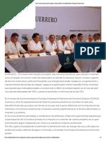 30-05-2019 Guerrero continúa generando empleos, señala Héctor Astudillo Flores.