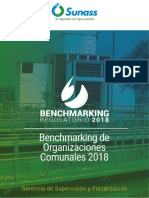 Benchmarking regulatorio SUNASS 2018