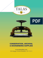 TALAS Product Catalog