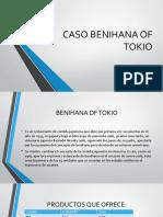 Caso Benihana of Tokio
