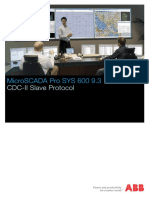 SYS600_CDC-II Slave Protocol
