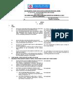 Lfar Questionaire, Annexure i,II,III,Ivc,V,Vi,x,Xii