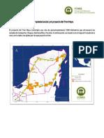 La Propiedad Social y El Proyecto Del Tren Maya CCMSS