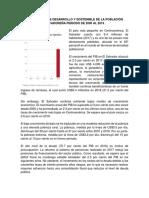 Perspectiva de Desarrollo y Sostenible de La Población Salvadoreña Periodo de 2000 Al 2019