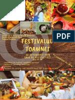 Afiş - Festivalul Toamnei 1