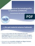 Concurso Nacional de Autobiografías Campesinas (CONAUCA)