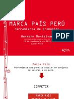 Marca Pais Peru Herramienta Promocion 2014 Keyword Principal