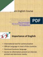 Spoken English Course Slideshare