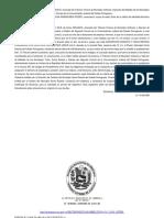 Cuartilla Sobre Una Sentencia de Primera Instancia Municipal Civil YARITZA