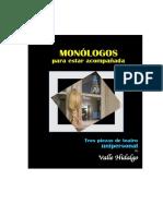Presentación del libro -Monólogos para estar acompañada-