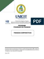 FINANZAS CORPORATIVAS - POSGRADO