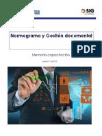 Memoria - Normograma y Documental