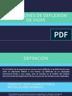 Aplicaciones y Deflexion de Vigas