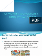 Actividades Economicas y Productivas Del Peruqw