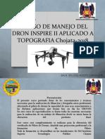 i Curso de Manejo Del Dron Inspire II