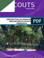 Scouts de Venezuela Instructivo de Registro 2019