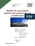 Diseño de Una Planta Ciclohexano Convertido