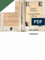 245857332 Michel Maffesoli O Conhecimento Comum Sao Paulo Editora Brasiliense