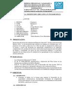 PLAN LECTOR DE LA I.E N° 716 CONGA BUENOS AIRES