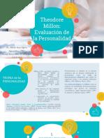 Theodore Millon - Evaluación de La Personalidad