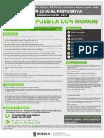 Reclutamiento Policía del Estado de Puebla