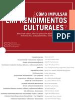 Cómo Impulsar Emprendimientos Culturales