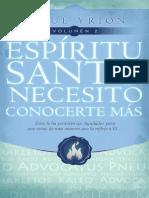 Espiritu Santo Necesito Conocerte Mas Josué Yrion Vol.2