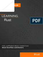 Learning Rust