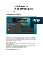 8 Mejores Software de Grabación de Pantalla Para Windows