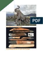 La Caza en La Prehistoria