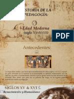 PPI La Edad Moderna