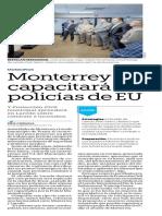 13-06-19 Monterrey capacitará a policías de EU