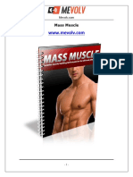 Mass Muscle Mevolv