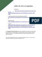 Crisis de Diciembre de 2001 en Argentina
