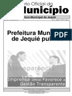 D.O. Prefeitura de Jequie 12-06-2019