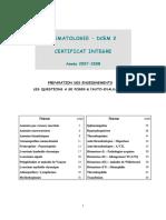Hematologie - Dcem 2 Certificat Integre