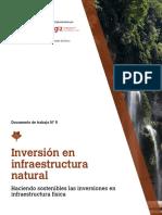 Inversión en Infraestructura Natural. Haciendo Sostenibles Las Inversiones en Infraestructura Física. Documento de Trabajo N 5