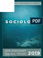 Stanford University Press | Sociology 2019 Catalog