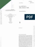 La Musica Del Siglo XIX (Carl Dahlhaus)