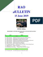 Bulletin 190615 (HTML Edition)