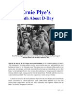 Mil Hist - WWII Ernie Pyles Truth About D-Day